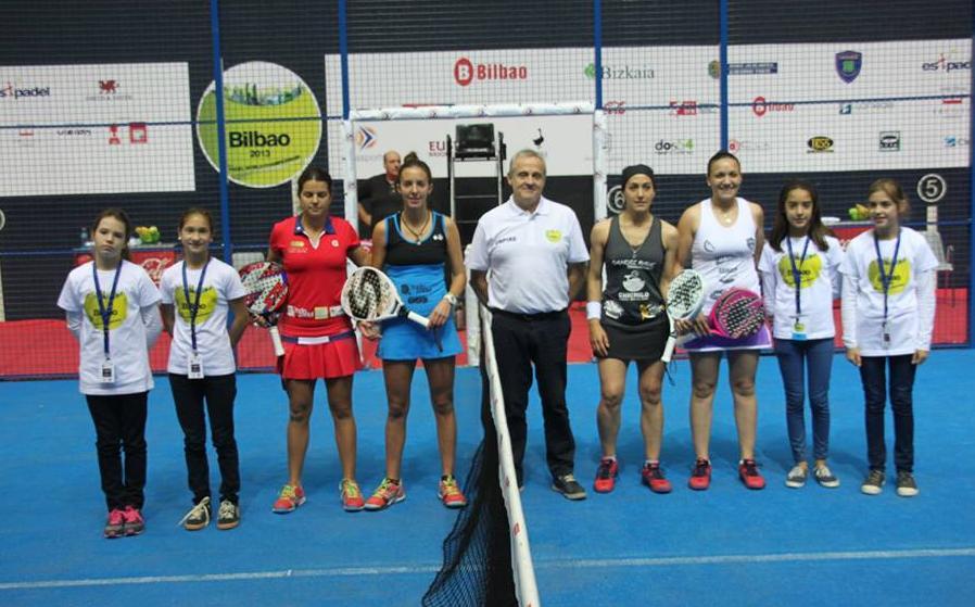 Final Femenina Campeonato del Mundo Open por Parejas 2013 Bilbao