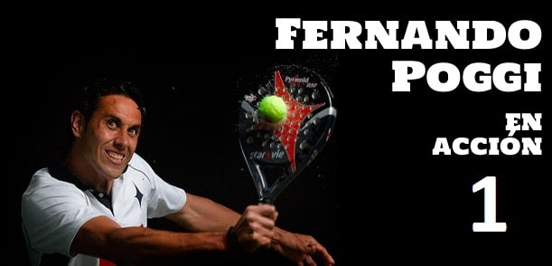 Clase de padel Fernando Poggi 1