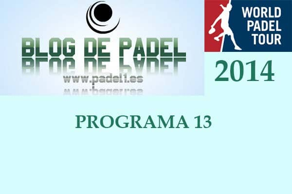 Programa 13 World Padel Tour
