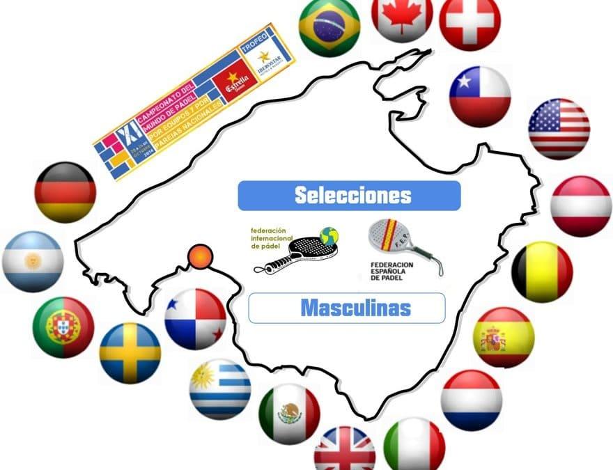 Mundial de padel 2014 selecciones
