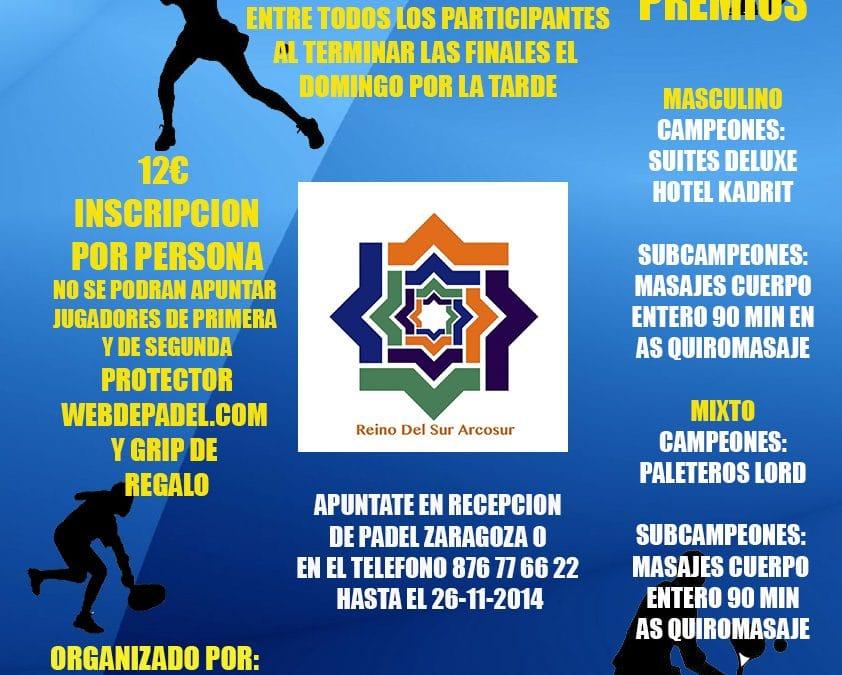 Torneo Web de Padel Zaragoza