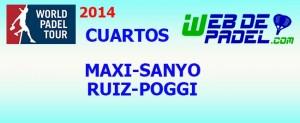 Cuartos 2 World Padel Tour Tenerife 2014