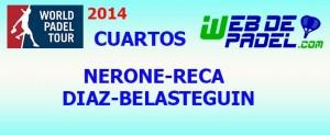 Cuartos 4 World Padel Tour Tenerife 2014