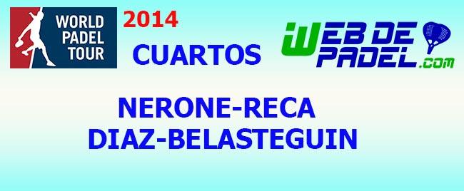 Partido Cuartos 4 World Padel Tour Tenerife 2014