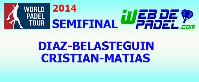 Partido Semifinal 2 World Padel Tour Tenerife 2014