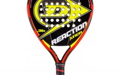 Opinion pala de padel Dunlop Reaction Junior