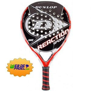 Pala de padel Dunlop Reaction Sport