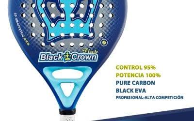 Opinion pala de padel Black Crown Flap