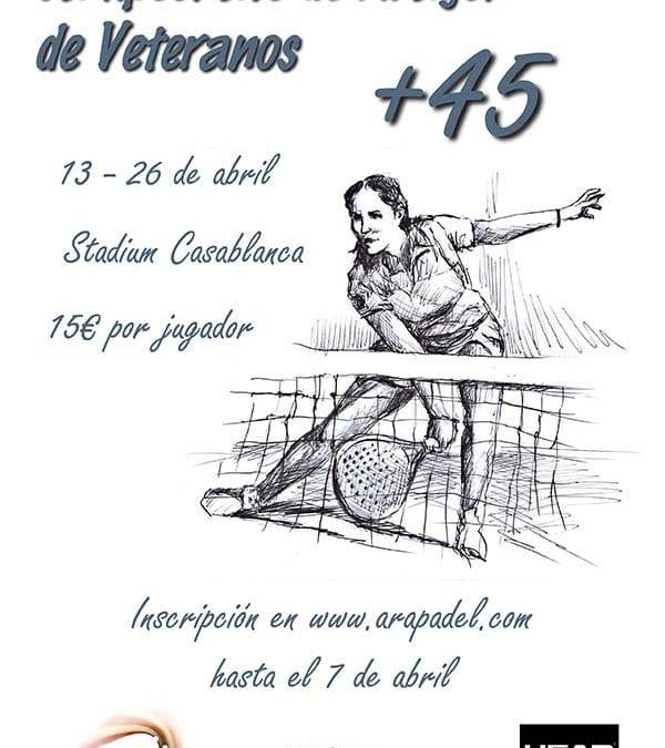 Campeonato Aragon veteranos en Stadium Casablanca