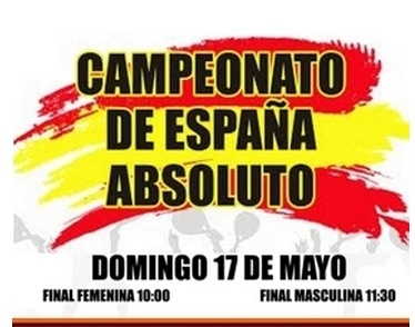 Campeonato de España Absoluto 2015 Streaming