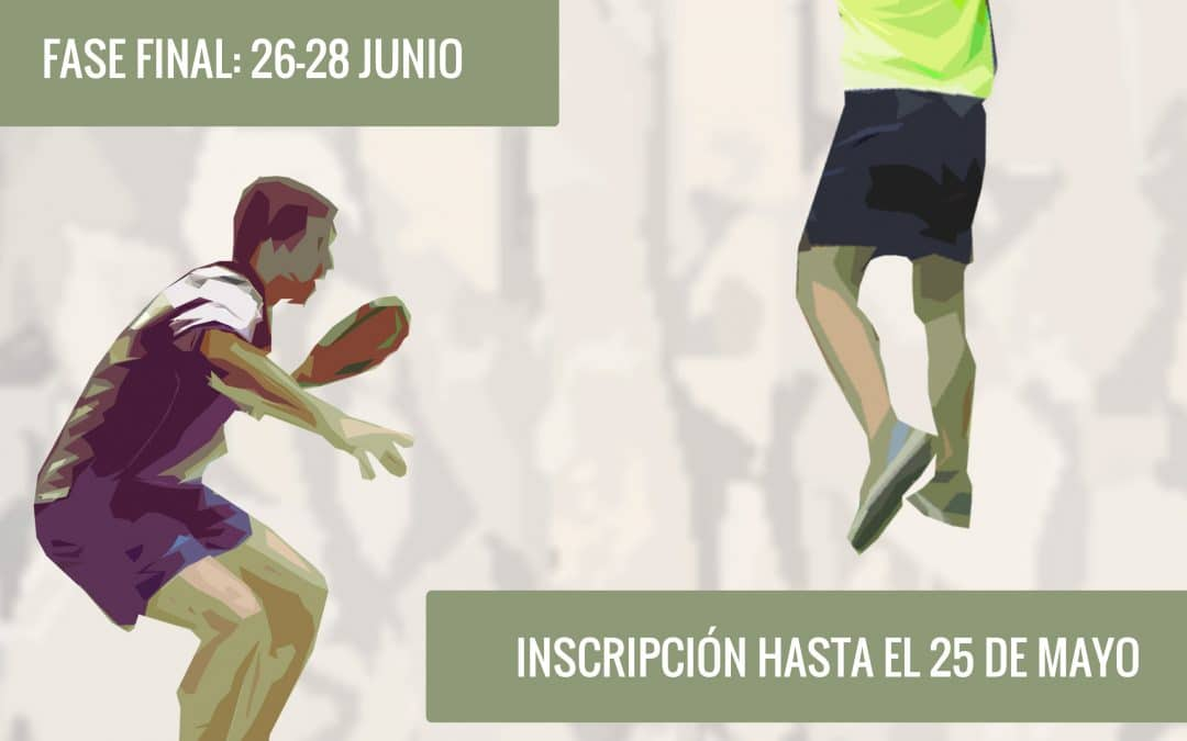 Cartel torneo tercera Absoluto Aragon