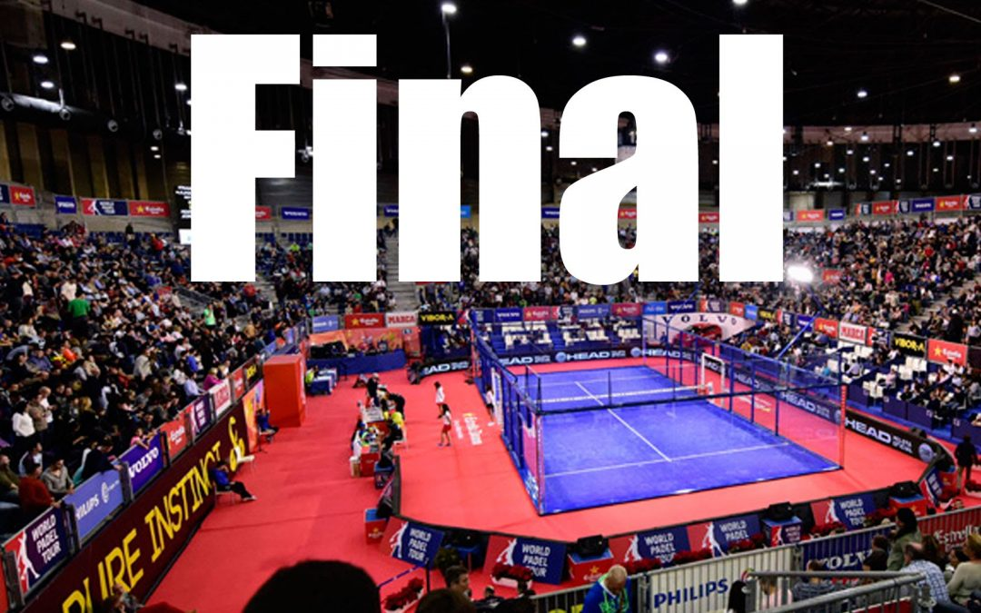 Partido Final World Padel Tour Valladolid 2015