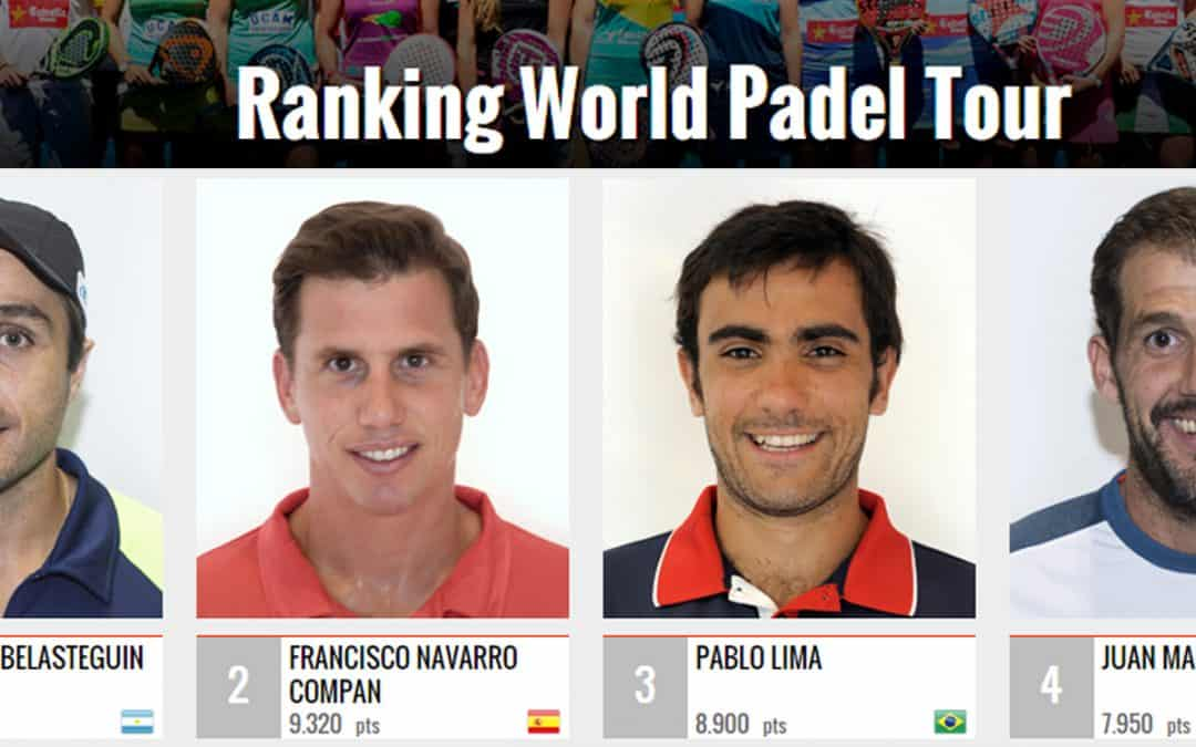 World Padel Tour cambia sistema de ranking