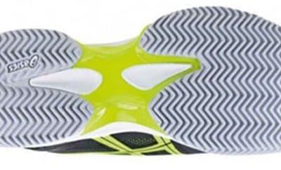 La suela en las zapatillas de padel