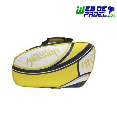 Paletero Padel Session Premium amarillo 1