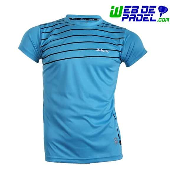 Camiseta Siux Padel Break Azul