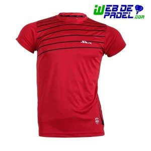 Camiseta Siux Padel Break Rojo