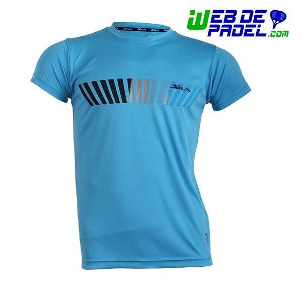 Camiseta Siux Padel Final Azul