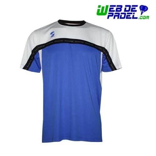 Camiseta Softee Padel Club Azul