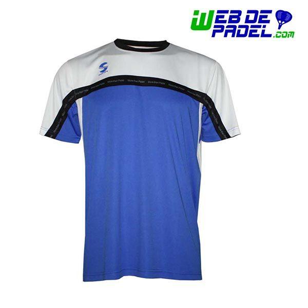 Camiseta Softee Padel Club Azul