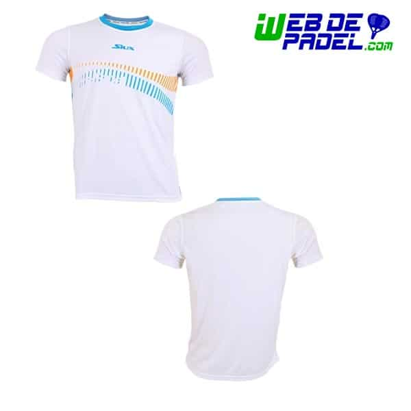 Camiseta tecnica padel Siux Feel Blanco