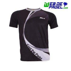 Camiseta tecnica padel Siux Linked Negro