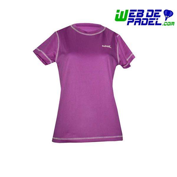 Camiseta tecnica padel softee mujer violeta