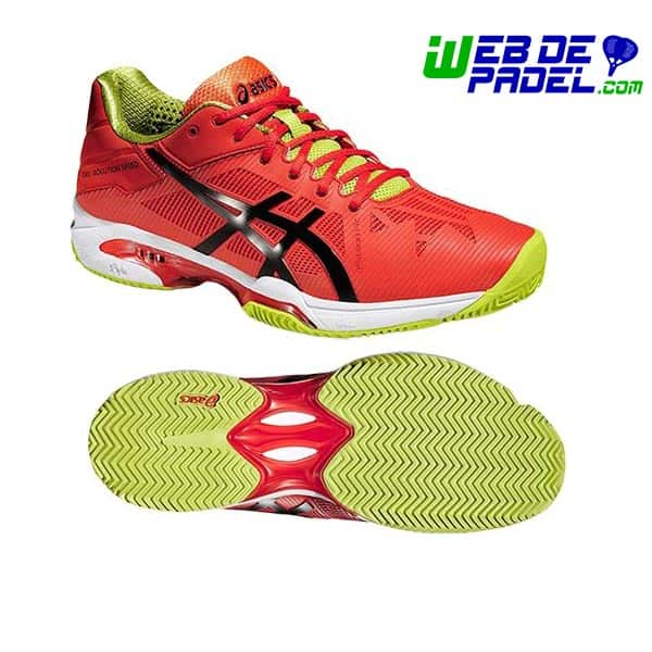 asics padel gel solution