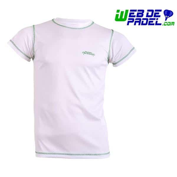 Camiseta hombre Padel Session Blanca