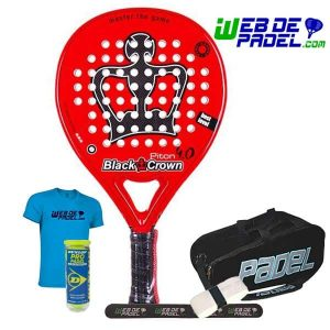 Pala de padel Black Crown Piton 4