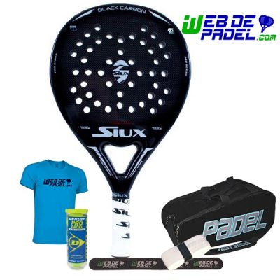 Siux Black Carbon Brillo con paletero