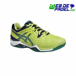 Zapatillas Asics Padel Gel Resolution 6 Clay Lima