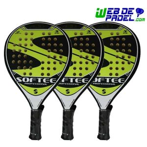 Pack pala de padel Softee Acid New 3