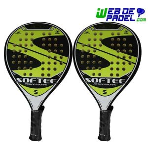 Pack pala de padel Softee Acid New