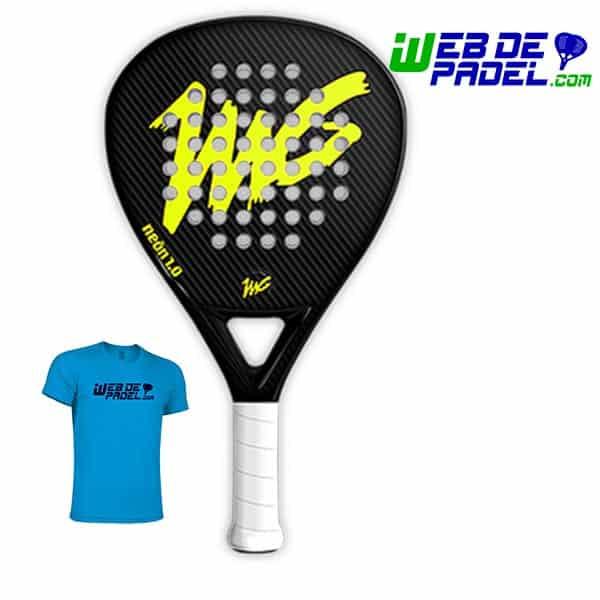 MG Neon 1 amarilla con camiseta
