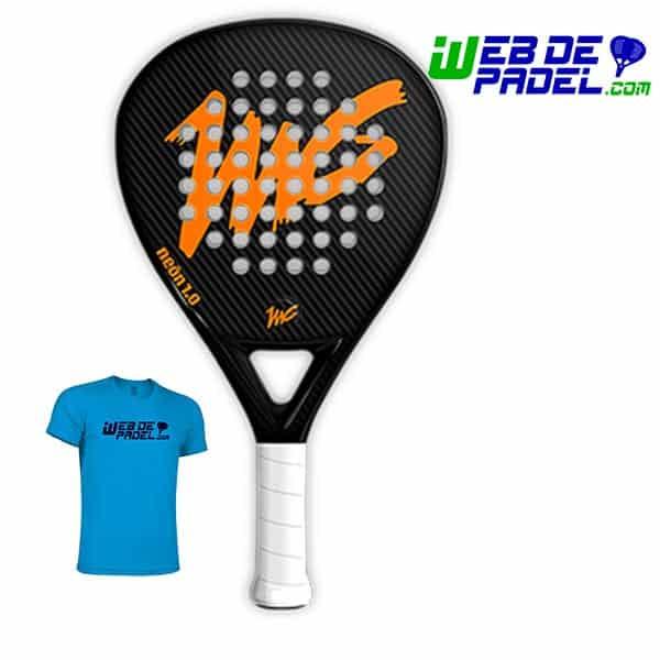 MG Neon 1 naranja con camiseta