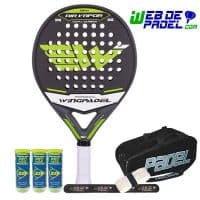 Wingpadel Air vapor verde 2016
