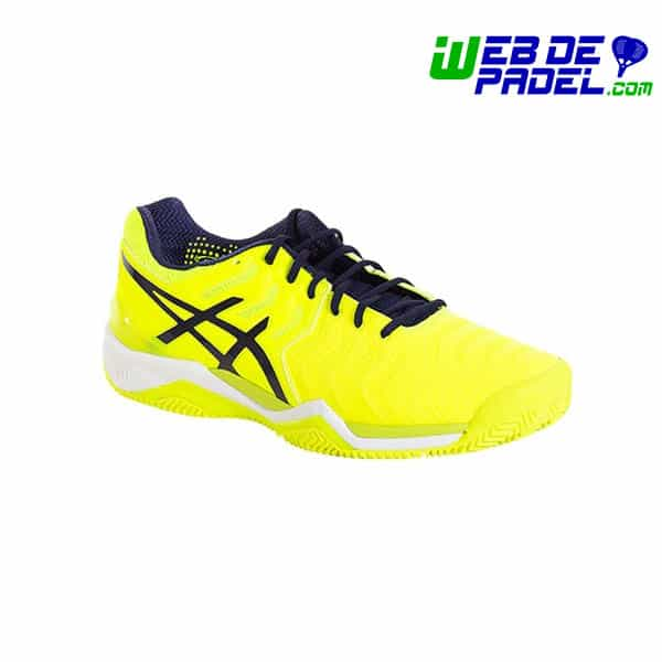 e5c3471ac Zapatillas Asics Gel Resolution 7 Clay Fluor