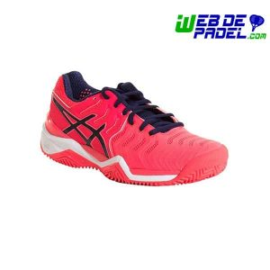 Zapatillas Asics Resolution 7 Rosa