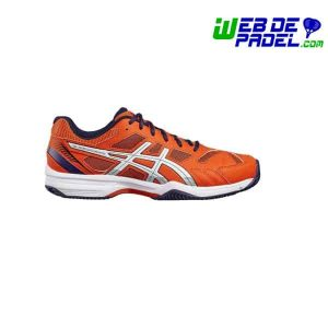 Zapatillas Asics exclusive 4 sg 2017 naranja