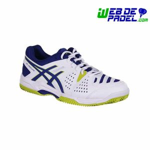 Zapatillas Asics gel dedicate 4 Clay Blanco