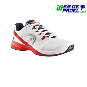 Zapatillas de padel Head Nitro Pro blanco