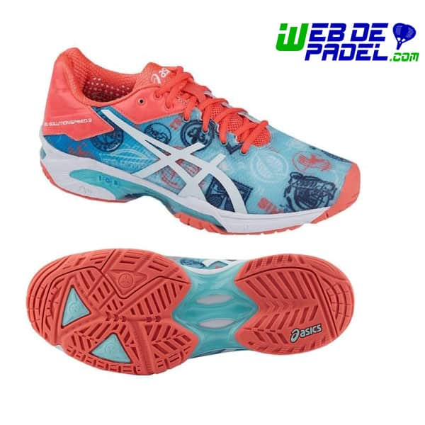 zapatillas padel asics speed 3