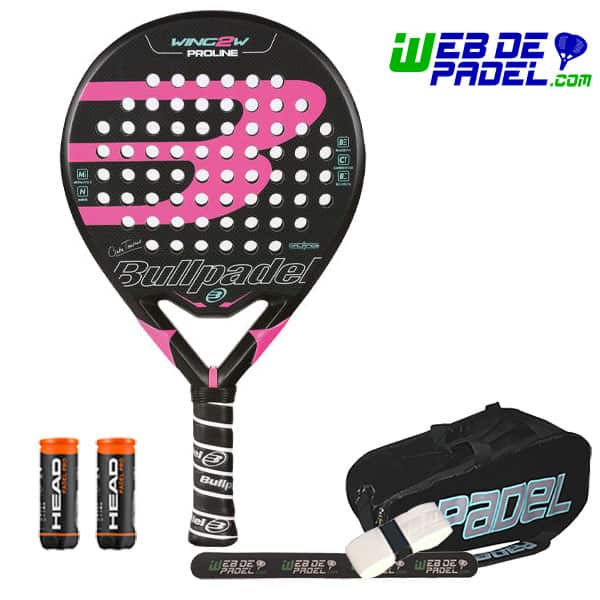 Pala de padel Bullpadel Wing 2 Woman Proline 2017