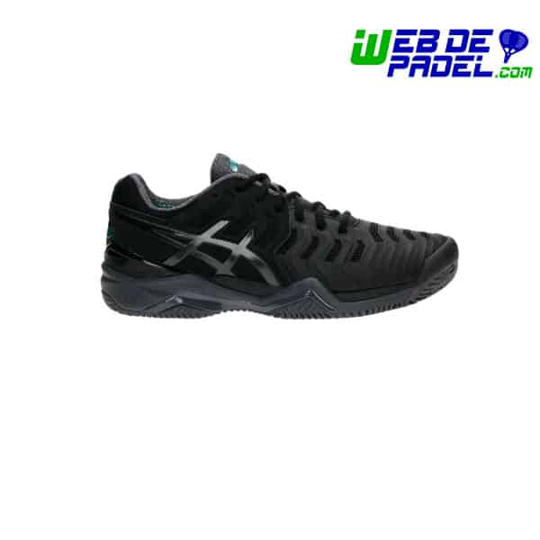 Zapatillas Asics Resolution 2017 negro