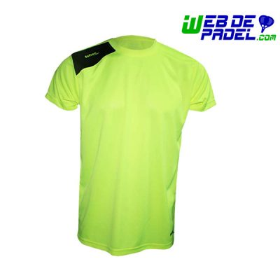 Camiseta Padel Softee Full Amarillo