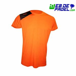 Camiseta Padel Softee Full Naranja