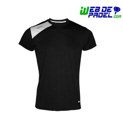 Camiseta Padel Softee Full Negro blanco