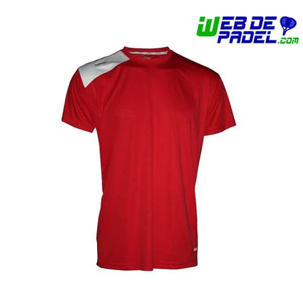 Camiseta Padel Softee Full Rojo