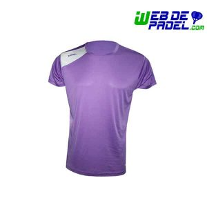 Camiseta Padel Softee Full Violeta